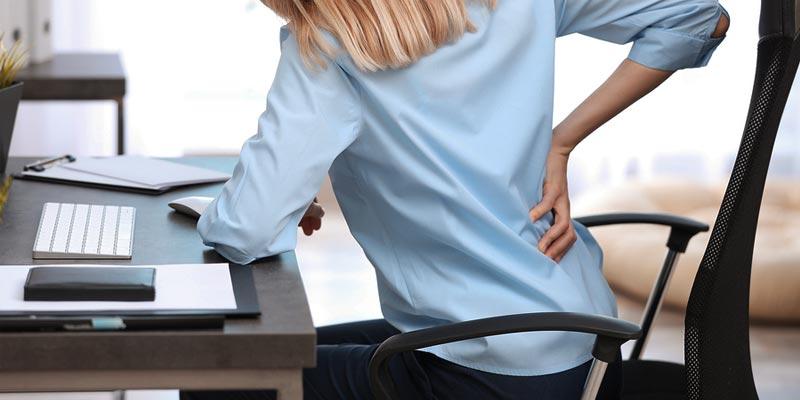 chaise de bureau pour le guide d'achat des maux de dos